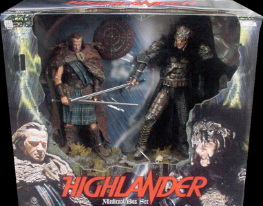 NECA HIGHLANDER MEDIEVAL BOX SET
