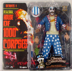 NECA HOUSE OF 1000 CORPSES SERIES 1 CAPTAIN SPAULDING