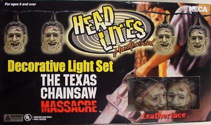 NECA DECORATIVE LIGHT SET THE TEXAS CHAINSAW MASSACRE