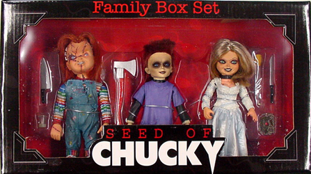 NECA SEED OF CHUCKY FAMILY BOX SET