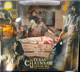 NECA THE TEXAS CHAINSAW MASSACRE THE BEGINNING BOX SET 開封済み未使用品パッケージ傷み特価