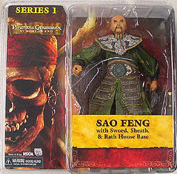 NECA PIRATES OF THE CARIBBEAN AT WORLD'S END SAO FENG
