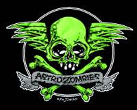 ASTRO ZOMBIES /SKULL WING (グリーン) Tシャツ