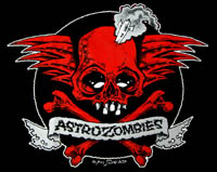 ASTRO ZOMBIES / ROCKET SKULL (レッド) Tシャツ