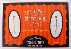 DARK HORSE STICK BOY & MATCH GIRL IN LOVE