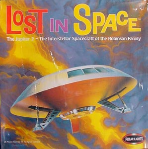 POLAR LIGHTS  LOST IN SPACE THE JUPITER 2