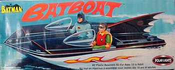 POLAR LIGHTS BATMAN BATBOAT