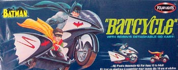 POLAR LIGHTS BATMAN BATCYCLE
