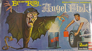 REVELL ED ROTH ANGEL FINK 組み立て式プラモデル シュリンクなし特価