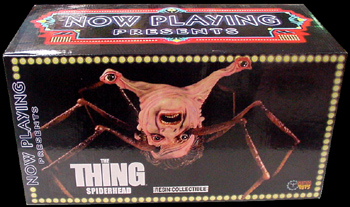 NOW PLAYING THE THING SPIDERHEAD レジン製 ミニバスト