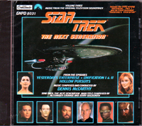 STAR TREK THE NEXT GENERATION ORIGINAL TV VOL.3 [YESTERDAY'S ENTERPRISE] [UNIFICATION &] [HOLLOW PURSUITS] 3話収録