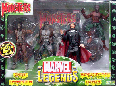 TOYBIZ MARVEL LEGENDS DX BOX MONSTERS GIFT PACK
