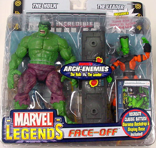 TOYBIZ MARVEL LEGENDS FACE-OFF シリーズ1 VARIANT THE HULK VS. THE LEADER