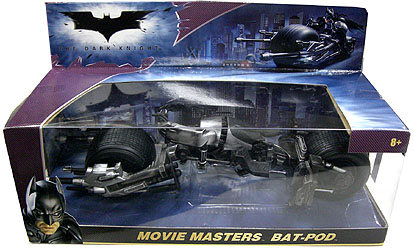 MATTEL BATMAN THE DARK KNIGHT MOVIE MASTERS BAT-POD