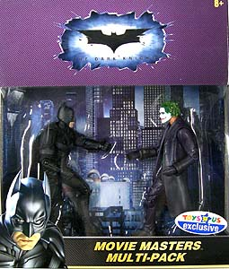 MATTEL BATMAN THE DARK KNIGHT 6インチ USAトイザラス限定 MOVIE MASTERS MULTI-PACK BATMAN & JOKER 2PACK