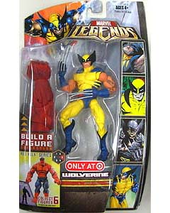 HASBRO MARVEL LEGENDS RED HULK SERIES WOLVERINE