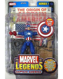TOYBIZ MARVEL LEGENDS 1 CAPTAIN AMERICA ブリスター傷み特価