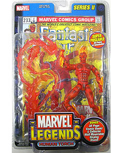 TOYBIZ MARVEL LEGENDS 2 HUMAN TORCH