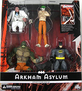 DC DIRECT ARKHAM ASYLUM BOX SET