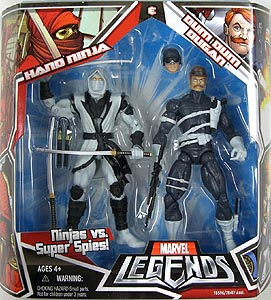 HASBRO MARVEL LEGENDS 2PACK HAND NINJA & DUM DUM DUGAN