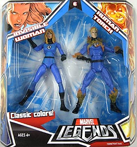 HASBRO MARVEL LEGENDS 2PACK INVISIBLE WOMAN & HUMAN TORCH