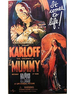 SIDESHOW 12インチ THE MUMMY MUMMY : BORIS KARLOFF 箱傷み特価