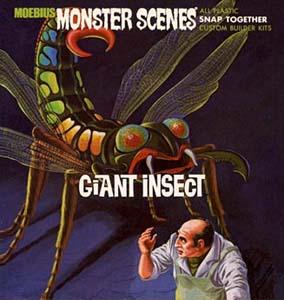 メビウスモデル モンスターシーン ジャイアントインセクト 巨大昆虫 組み立て式プラモデル