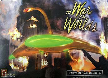 PEGASUS HOBBIES 1/48スケール THE WAR OF THE WORLDS MARTIAN WAR MACHINE 組み立て式プラモデル