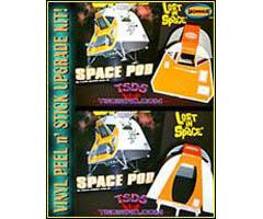 TSDS メビウスモデル プラモデル用 ビニールステッカー 宇宙家族ロビンソン スペースポッド