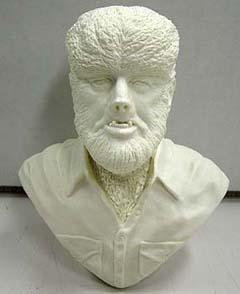 ジミーフリントストーン 狼男 胸像 約1/4フィギュアサイズ レジンキャスト (キットは未塗装です。箱はありません。)