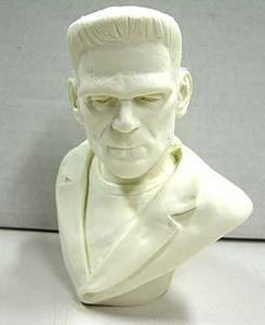 ジミーフリントストーン フランケンシュタイン 胸像 約1/4フィギュアサイズ レジンキャスト (キットは未塗装です。箱はありません。)