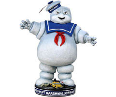 NECA HEAD KNOCKERS GHOSTBUSTERS Stay Puft Marshmallow Man