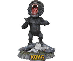 NECA HEAD KNOCKERS KING KONG WITH V-REX