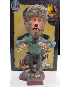 NECA HEAD KNOCKERS UNIVERSAL MONSTERS THE WOLFMAN