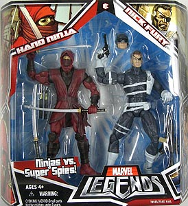HASBRO MARVEL LEGENDS 2PACK HAND NINJA & NICK FURY