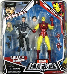 HASBRO MARVEL LEGENDS 2PACK MARIA HILL & IRON MAN