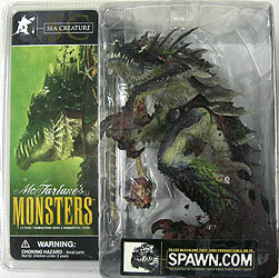 McFARLANE McFARLANE'S MONSTERS SEA CREATURE (パッケージ血糊付き)