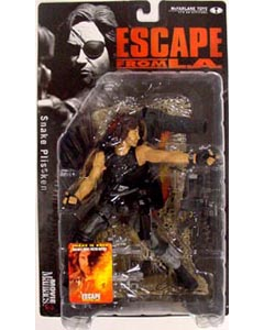 McFARLANE MOVIE MANIACS 3 ESCAPE FROM L.A. SNAKE PLISSKEN コート脱ぎ ブリスター傷み特価