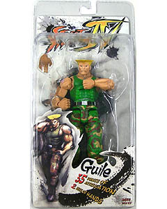 NECA STREET FIGHTER IV SERIES 2 GUILE