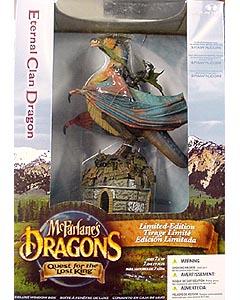 McFARLANE McFARLANE'S DRAGONS SERIES 1 DX BOX ETERNAL CLAN DRAGON