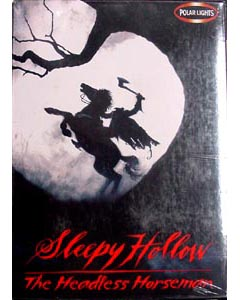 POLAR LIGHTS SLEEPY HOLLOW THE HEADLESS HORSEMAN パッケージヤケ特価