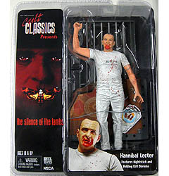 NECA CULT CLASSICS THE SILENCE OF THE LAMBS HANNIBAL LECTER WHITE OUTFIT Ver.
