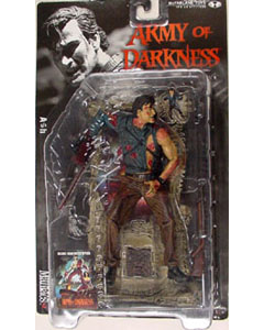 McFARLANE MOVIE MANIACS 3 ARMY OF DARKNESS ASH ブリスターヤケ特価