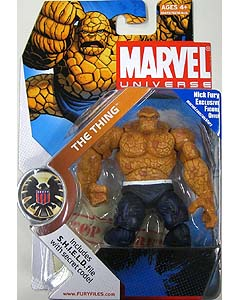 HASBRO MARVEL UNIVERSE SERIES 1 #019 THING [DARK BLUE]