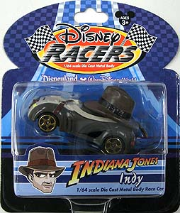 INDIANA JONES USA ディズニーテーマパーク限定 DISNEY RACERS 1/64スケールミニカー INDY