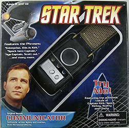 DIAMOND SELECT STAR TREK ORIGINAL SERIES COMMUNICATOR