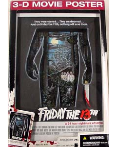 McFARLANE 3D-MOVIE POSTER FRIDAY THE 13TH