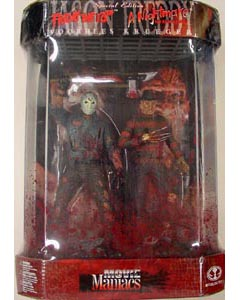 McFARLANE MOVIE MANIACS 1 JASON & FREDDY SPECIAL EDITION [シュリンクなし 開封品]