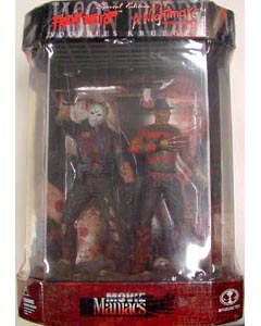 McFARLANE MOVIE MANIACS 1 JASON & FREDDY SPECIAL EDITION