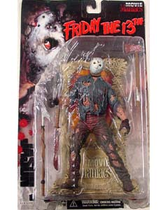 McFARLANE MOVIE MANIACS 1 FRIDAY THE 13th JASON [本体血糊あり]